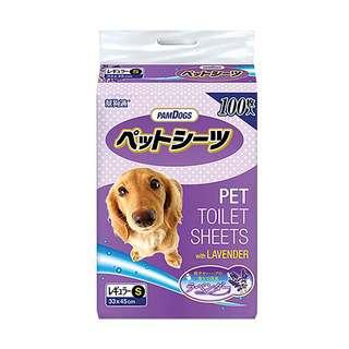 Pamdogs Potty Training Pee Pads with Hokkaido Lavender Small