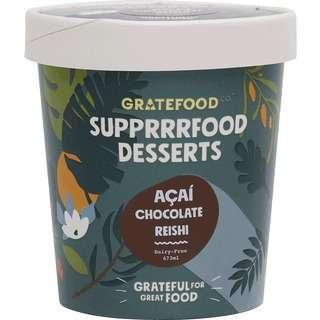 Gratefood Company Vegan Acai Chocolate Reishi Sorbet