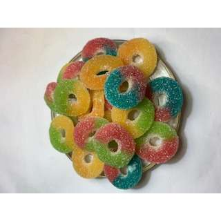 Burmar Assorted Rings Fizzy Candy