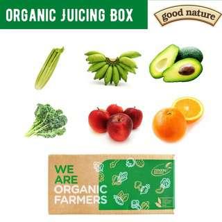 Good Nature Organic Juicing Box
