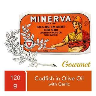 Minerva Codfish in Olive Oil with Garlic