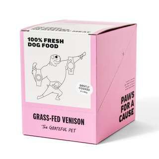 The Grateful Pet Gently Cooked Grass fed Venison