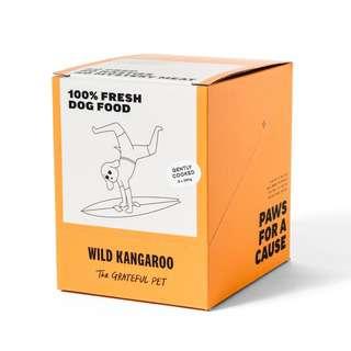 The Grateful Pet Gently Cooked Wild Kangaroo