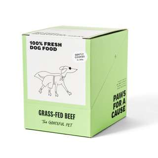 The Grateful Pet Gently Cooked Grass fed Beef