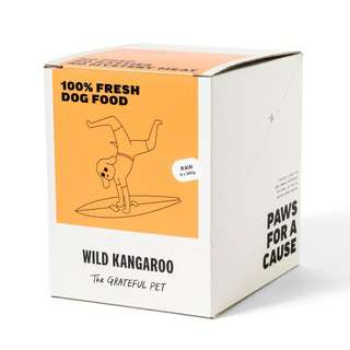 The Grateful Pet Raw Wild Kangaroo