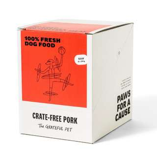 The Grateful Pet Raw Crate free Pork