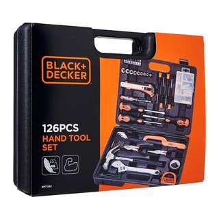 Black+Decker Hand Tools & Accessories Set 126pcs - BMT126C