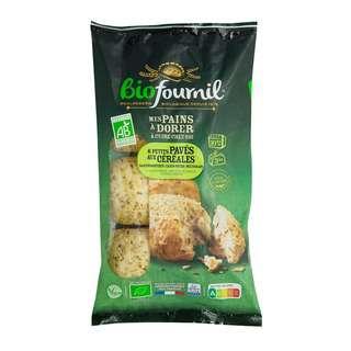 Biofournil Organic 6 Multi Grain Mini Loaves (Mild Flavour)