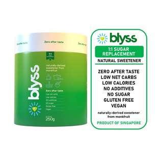 Blyss Natural Zero-GI Monkfruit Sweetener - Granular