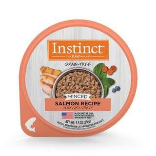 Instinct Minced Recipe  Salmon  Wet Cat Food Cups