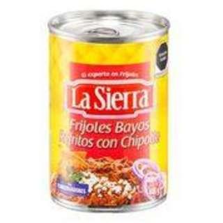 La Sierra Refried Beans - Chipotle Chilli