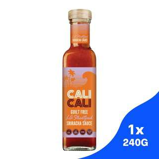 Cali Cali LA Streetfood Sriracha Sauce - Gluten Free No MSG