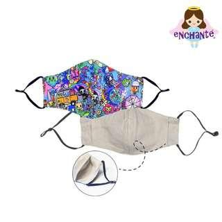 tokidoki Pool Party Anti-Bacterial Mask - Adult