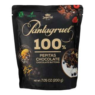 Pantagruel Chocolate Buttons 100% Cocoa