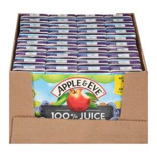 Apple & Eve 100 Juice- Grape [Carton Pack]