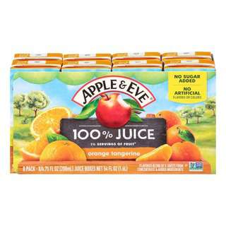 Apple & Eve 100 Juice- Orange Tangerine
