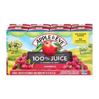 Apple & Eve 100 Juice- Naturally Cranberry