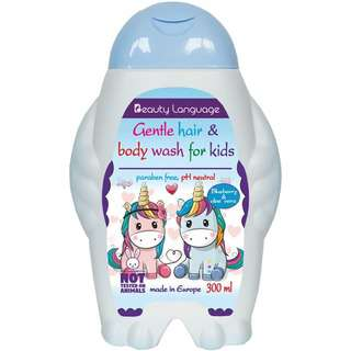 BL Kids Gentle Hair and Body Wash (Blueberry and Aloe Vera)