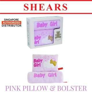 Shears Pillow & Bolster Toddler Pillow & Bolster for Baby Gir