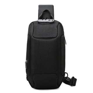 Travelsupplies Hardshell Crossbody Bag With USB charging Port