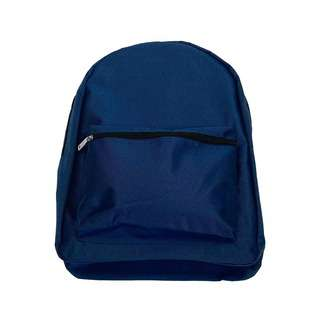 Travelsupplies Polyester School Backpack - Blue