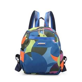 Travelsupplies Water Resistant Mini Ladies Backpack - Rainbow