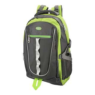 World Polo Outdoor Padded Backpack - Green