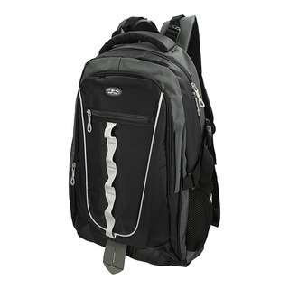 World Polo Outdoor Padded Backpack - Black