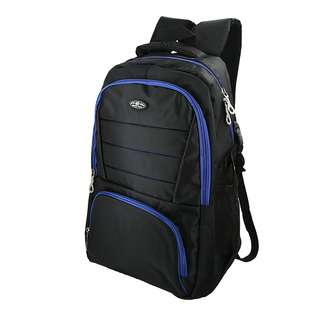 World Polo Classic Padded Backpack - Blue