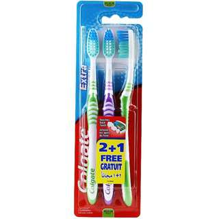 Colgate Extra Clean Toothbrush (Medium) 3s