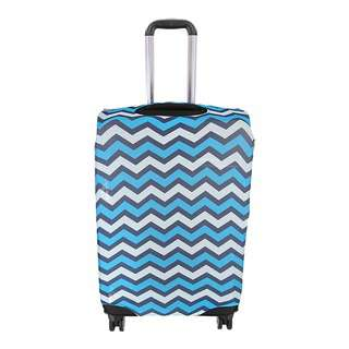 Travelsupplies Medium Luggage Cover Protector - Wavy
