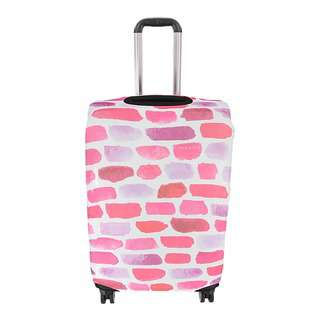 Travelsupplies Large Luggage Cover Protector - Bricks