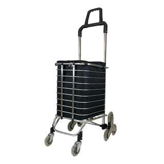 Travelsupplies Foldable 8 Wheels Stairs Climber Trolley Cart