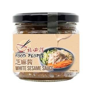 Food People White Sesame Paste