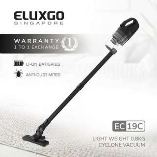 Eluxgo EC19C Black Cordless Vacuum Cleaner
