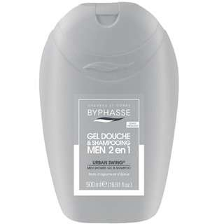 Byphasse 2 In 1 Men Shower Gel and Shampoo Urban Swing