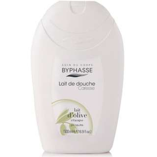 Byphasse Caresse Shower Cream Body D'Olive