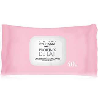 Byphasse Makeup Remover Wipes For All Skin Type 40's