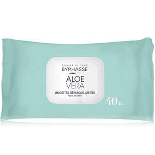 Byphasse Makeup Remover Wipes For Sensitive Skin 40's