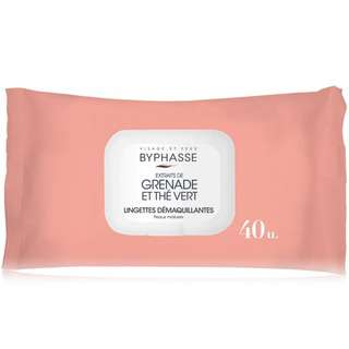 Byphasse Make Up Remover Wipes For Mature Skin 40's