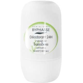 Byphasse Deodorant Roll On Extrait De Bamboo