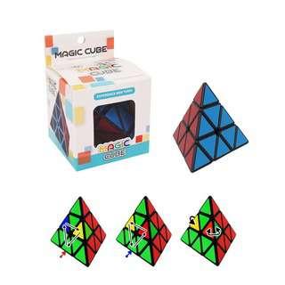 Play N Learn Rubik Triangle Pyraminx IQ Fun Family Game