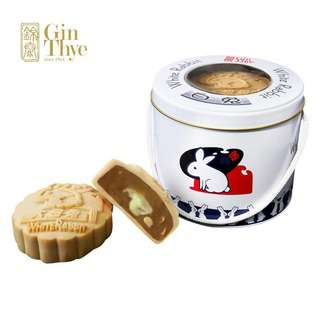 Gin Thye Traditional Mooncakes - Lava Milk White Rabbit 2pc
