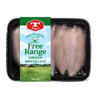 Tegel Free Range Chicken Mini Fillet Chilled