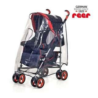 Reer PEVA Universal Stroller Rain Cover XL