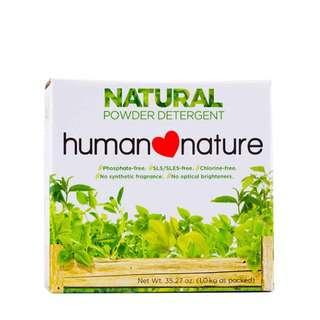 Human Nature All Natural Powder Detergent