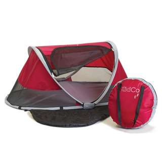 Kidco Peapod Baby Travel Bed Cranberry