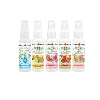 Human Nature All Natural Spray Sanitizer- Citrus Burst