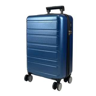 Travelsupplies 24 Inch Premium Polycarbonate Luggage - Blue