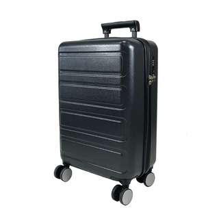 Travelsupplies 28 Inch Premium Polycarbonate Luggage - Black